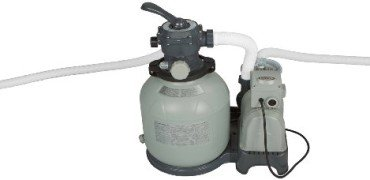 Intex Krystal Clear Sand Filter Pump for Above Ground Pools, 110-120 Volt with GFCI, 2800 Gallon