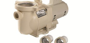 Pentair 340039 SuperFlo High Performance Single Speed Pool Pump, 11/2 Horsepower, 115/230 Volt, 1 Phase