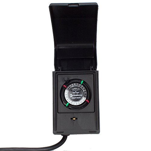 Intermatic P1121 Heavy Duty Outdoor Timer 15 Amp