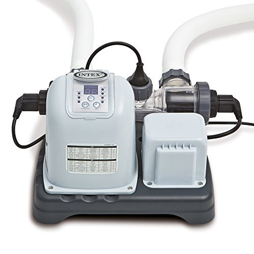 Intex 120V Krystal Clear Saltwater System CG-28669 with E.C.O. (Electrocatalytic Oxidation) for Above Ground Pools