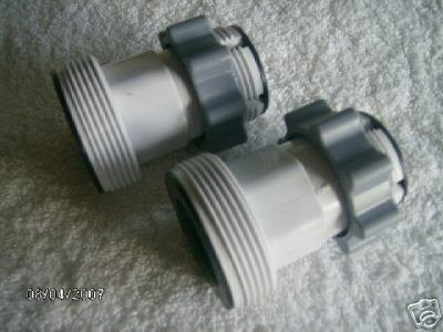 Hose Conversion Adapters Kit For Intex 1500gph And 2500gph Pumps Swimming Pool Pump